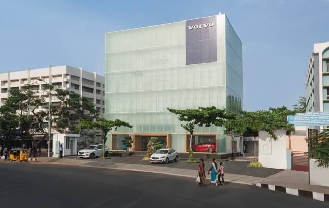 Volvo Car Showroom In Teynampet Chennai Car Service